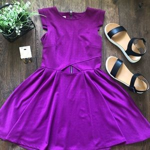 Purple Junior's Bongo Dress